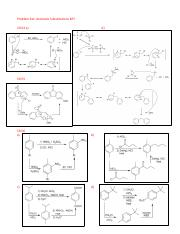 Aromatic Substitutions Key