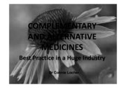 2. complementary and alternative med