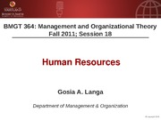 BMGT 364 Session 18 Human Resources 2