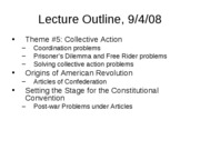 Lecture slides Fall 08 Sept 4 Constitutionpt1