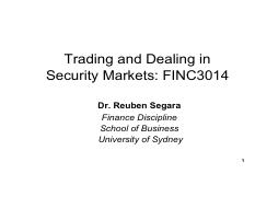 Topic5_Liquidity suppliers_22Aug2016 [FINC3014] USYD