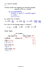 4.4 Part 2 Irrational Numbers