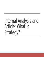 BPS - Internal Analysis and What is Strategy.pptx