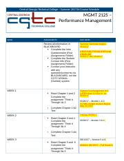 Performance Mgmt Course Schedule.docx