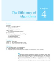 Chapter 4 The Efficiency