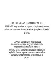 PERFUMES FLAVORS AND COSMETICS (1).ppt