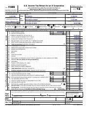 Form 1120-S