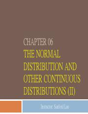 06. The Normal Distribution and Other Continuous Distributions_2.pdf