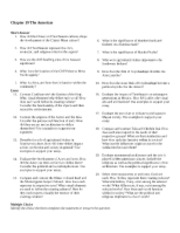 Chapter 19 The Americas test question