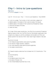 Chapter1 Introduction to Law