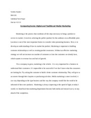 marketing research paper