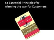 12 Essential Principles for winning the war for customers