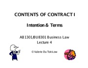 Contract-Intention&Terms Aug2012