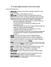 8th Grade English Semester Exam Study Guide.pdf