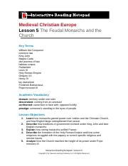 interactive reading notepad ch 1.2.docx - Medieval ...