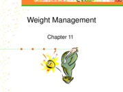 Weight Management (Chapter 11)