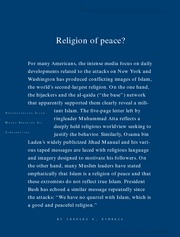 1 - Religion of peace - Charles A. Kimball