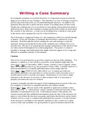 Writing a Case Summary.docx