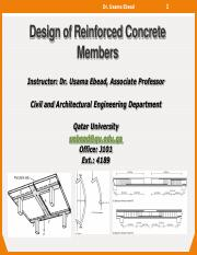 0Lecture 13- Design of Reinforced Concrete Beams for Shear