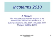 Incoterms 2010 ppt