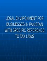 Legal Environment for Business in Pakistan (1).ppt