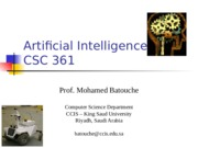 Artificial Intelligence chap1