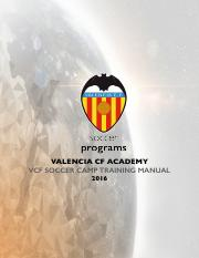 VCF COACHES - VCF SOCCER CAMP TRAINING MANUAL 5 DAYS.pdf