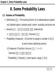 Ch2 Some Probability Laws.ppt