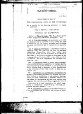 B.P. 68. The Corporation Code of the Philippines