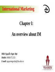 20160111 IM Chapter I An Introduction of IM.pptx