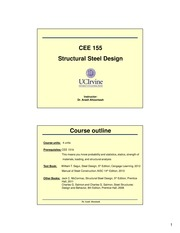 CEE 155 Lecture Slides Chapter 1-2