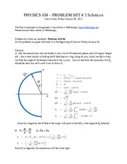 Homework 3 with Solutions