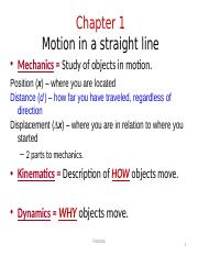 kinematics _1st chapter 2014.ppt