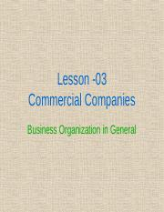 L-3-(A)-Commercial Companies.ppt