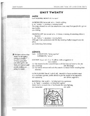 English 10 Vocab Vocab from Latin and Greek Roots - Lesson 20 Worksheet