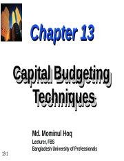 ch13-Capital-Budgeting.ppt