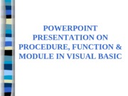 PROCEDURE-FUNCTION-MODULE-IN-VISUAL-BASIC