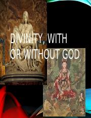 Divinity with or without god.pptx