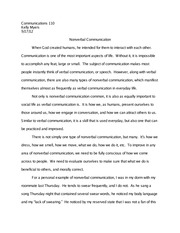 Good Topics For Cause And Effect Essays Nonverbal Communications  Essay  Its How We Dress How We Smell How We  Move What We Do How We Do It Etc To Improve In Any Area Of Nonverbal Computer Revolution Essay also Explaining Concepts Essay Topics Nonverbal Communications  Essay  Its How We Dress How We Smell  Researched Argument Essay Example