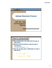 Lecture07 - Address Resolution Protocol - inked