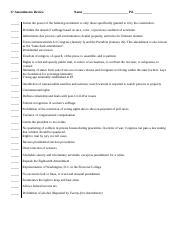 The 27 Amendments - The 27 Amendments Study online at quizlet ...