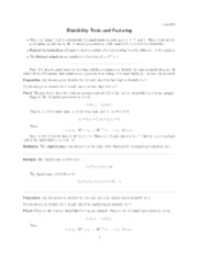 Fermat factorization notes