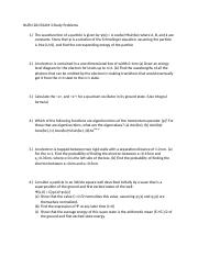 NUEN 201 EXAM 3 Study Problems.docx