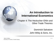 IEP Chapter 4 Powerpoint - CHAPTER R FOU An Introduction to