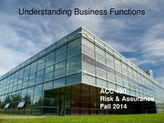 ACC 450 7 Understanding Business Functions Fall 14