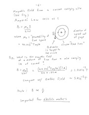ENEL 673 Ampere's Law Notes