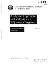 Analytical Approaches to Stabilization and Adjustment Programs_Cadman Mills.pdf
