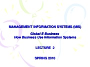 02-LECTURE NOTES 2 - Global E-Business