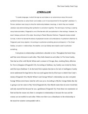 American History - The Great Gatsby Final Paper