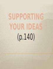 6-Supporting your Ideas.pptx